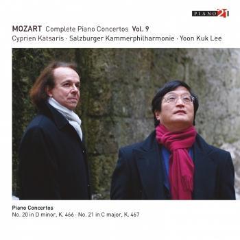 Cover Mozart: Complete Piano Concertos, Vol. 9 (Live - K. 466 & 467) (Live - Cadenza A by Katsaris)
