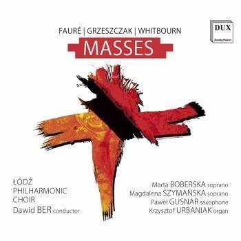 Cover Fauré, Grzeszczak & Whitbourn: Masses