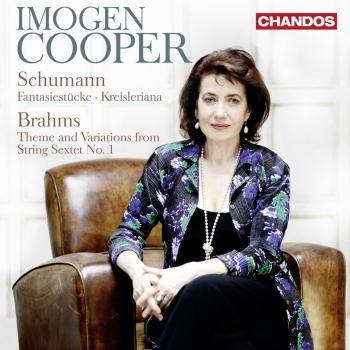 Cover Schumann: Fantasiestücke - Kreisleriana - Brahms: Theme & Variations from String Sextet No. 1