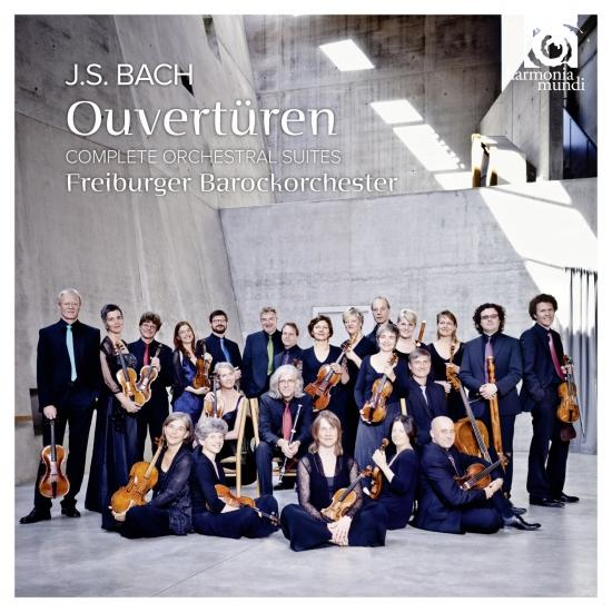 Cover J.S Bach Ouvertüren
