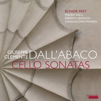 Cover Giuseppe Clemente Dall'Abaco: Cello Sonatas