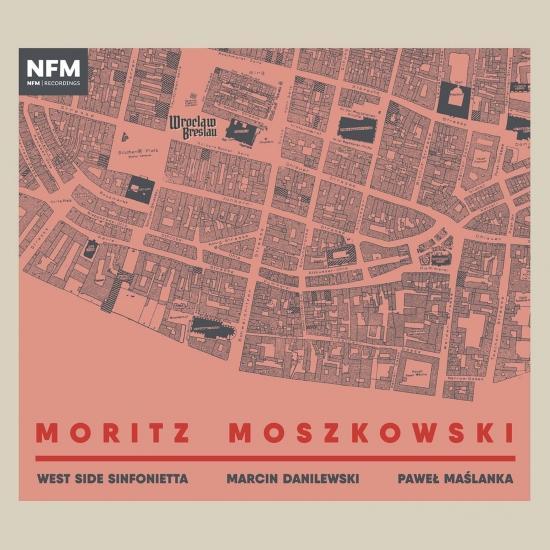 Cover Moszkowski: Works