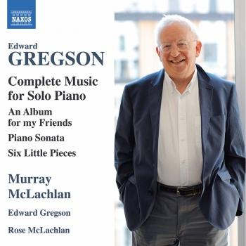 Cover Edward Gregson: Complete Music for Solo Piano