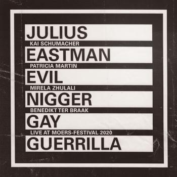 Cover Eastman: Evil Nigger / Gay Guerrilla (Live)