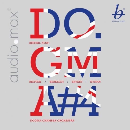 Cover Britten, Berkeley, Bryars & Nyman: British. Now!