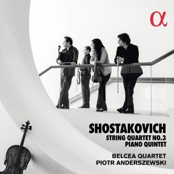 Cover Shostakovich: String Quartet No. 3 & Piano Quintet