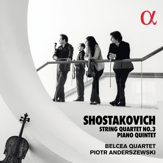 Cover Shostakovich: String Quartet No. 3 & Piano Quintet