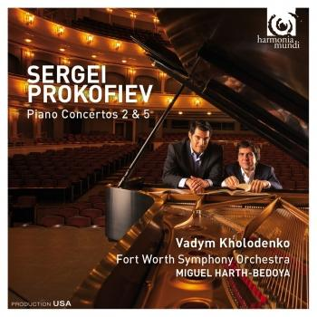 Cover Prokofiev: Piano Concertos 2 & 5