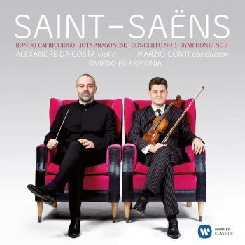 Cover Saint-Saëns: Violin Concerto No. 3 & Symphony No. 3