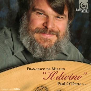 """Cover Francesco da Milano Works for lute 'Il divino"""""""