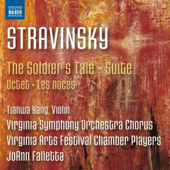 Cover Stravinsky: The Soldier's Tale Suite, Octet & Les noces