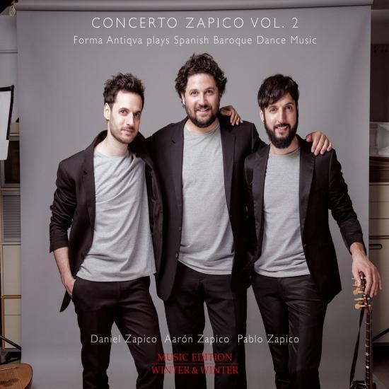 Cover Concerto Zapico, Vol. 2