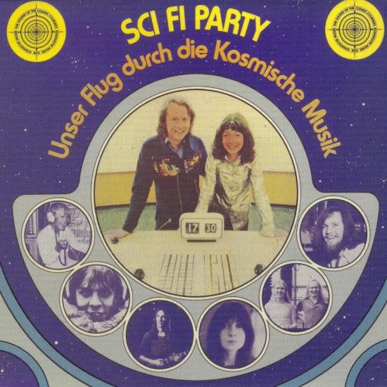 Cover Sci Fi Party