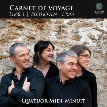 Cover Carnet de voyage, Livre 1, Beethoven & Cras