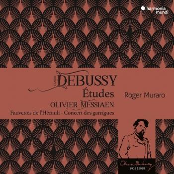 Cover Debussy: Etudes - Messiaen: Fauvettes de l'Hérault - Concert des garrigues