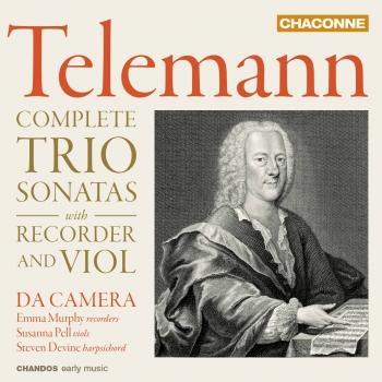 Cover Telemann: Complete Trio Sonatas with Recorder & Viol