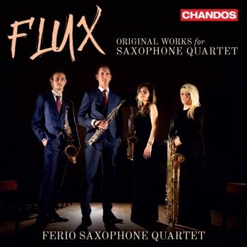 Cover Flux: Original Works for Saxophone Quartet