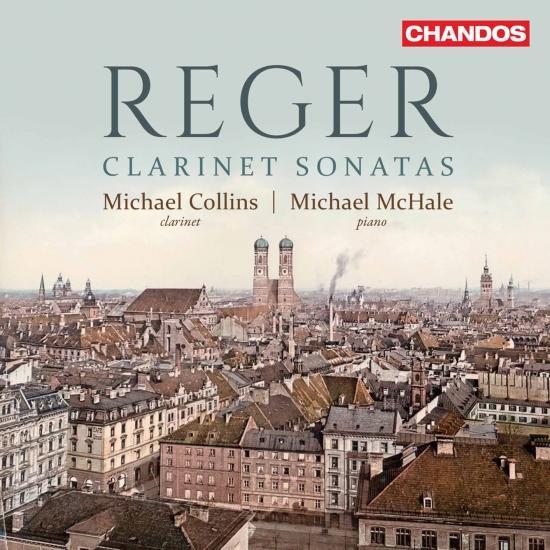Cover Reger: Clarinet Sonatas