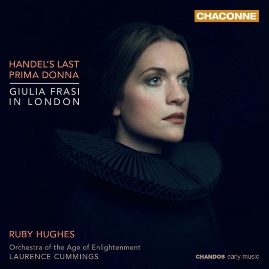 Cover Handel's Last Prima Donna: Giulia Frasi in London