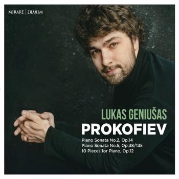 Cover Sergey Prokofiev: Piano Sonata No. 2, Op. 14 & No. 5, Op. 38/135 - 10 Pieces for Piano, Op. 12