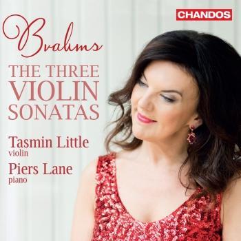 Cover Brahms: The 3 Violin Sonatas