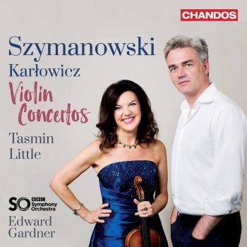 Cover Szymanowski & Karłowicz: Violin Concertos