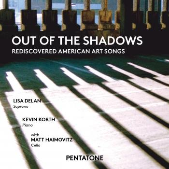 Cover Out of the Shadows: Rediscovered American Art Songs