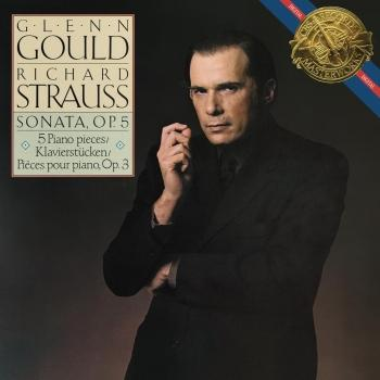 Cover Strauss: Piano Sonata, Op. 5 & Fünf Klavierstücke, Op. 3 (Remastered)