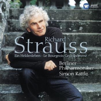 Cover R. Strauss: Ein Heldenleben & Le bourgeois gentilhomme