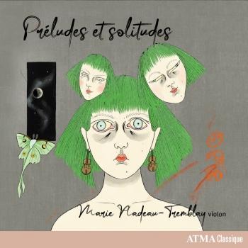 Cover Préludes et solitudes