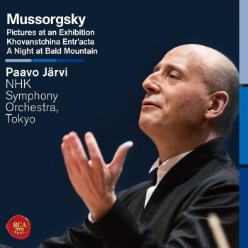 Cover Mussorgsky: Pictures at an Exhibition & A Night at Bald Mountain