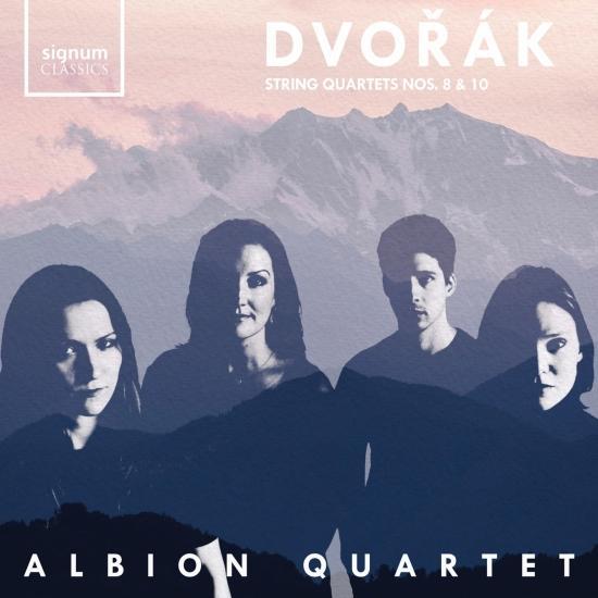 Cover Dvořák String Quartets 8 & 10
