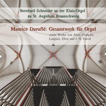Cover Maurice Duruflé: Gesamtwerk für Orgel
