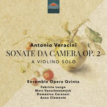 Cover Veracini: Sonate da camera, Op. 2