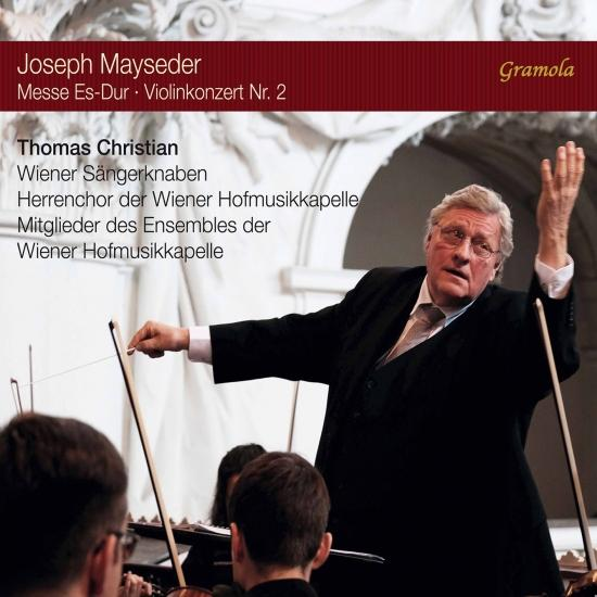 Cover Mayseder: Mass in E-Flat Major, Op. 64 & Violin Concerto No. 2, Op. 26
