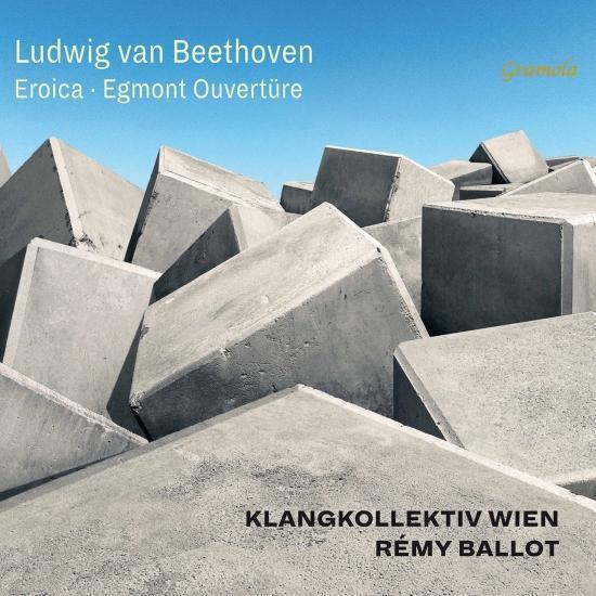 Cover Beethoven: Symphony No. 3 in E-Flat Major, Op. 55 'Eroica' & Egmont Overture, Op. 84 (Live)