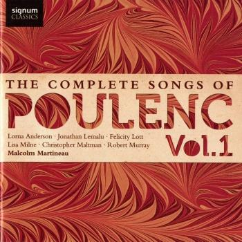 Cover The Complete Songs of Poulenc, Vol. 1