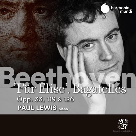 Cover Beethoven: Fur Elise, Bagatelles Opp. 33, 119 & 126