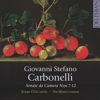 Cover Giovanni Stefano Carbonelli: Sonate da Camera Nos 7-12