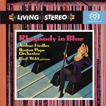 Cover Gershwin: Rhapsody in Blue, Concerto in F, An American in Paris, Variations on 'I Got Rhythm'