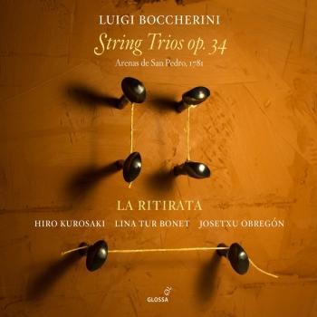 Cover Boccherini: String Trios, Op. 34
