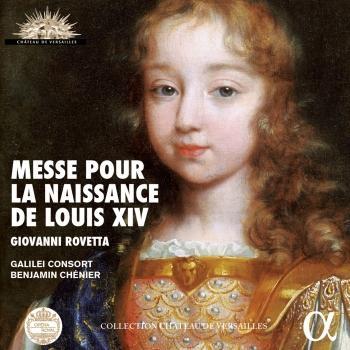 Cover Rovetta: Messe pour la naissance de Louis XIV (Live Recording at La Chapelle Royale du Chateau de Versailles)