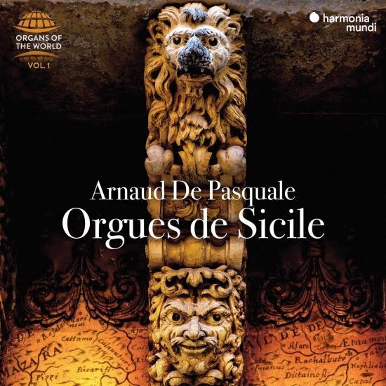 Cover Orgues de Sicile (Organs of the World, Vol. 1)