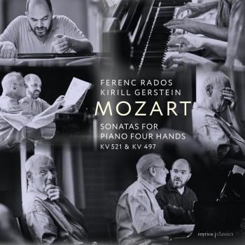 Cover Mozart: Sonatas for Piano Four Hands, K. 521 & 497