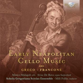 Cover Early Neapolitan Cello Music