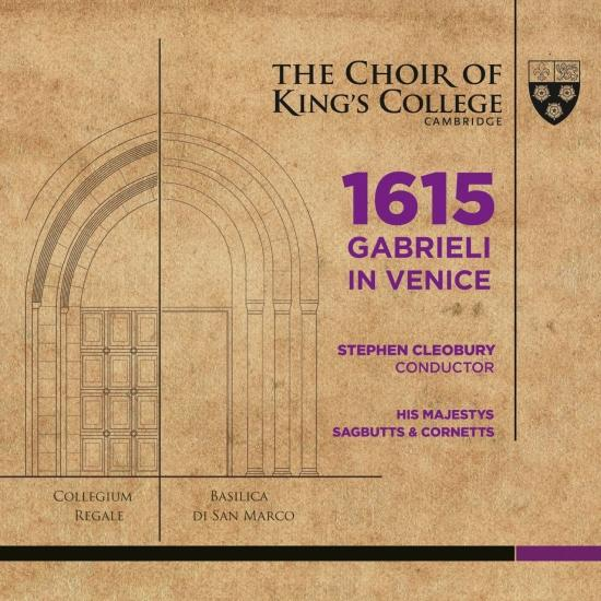 Cover 1615 Gabrieli in Venice