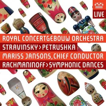 Cover Stravinsky: Petrushka & Rachmaninov: Symphonic Dances (Live)
