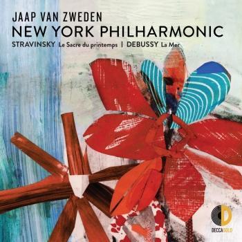 Cover Stravinsky Le Sacre du printemps; Debussy La Mer