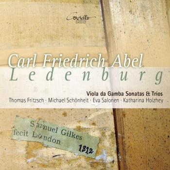 Cover Carl Friedrich Abel Ledenburg: Viola da Gamba Sonatas & Trios