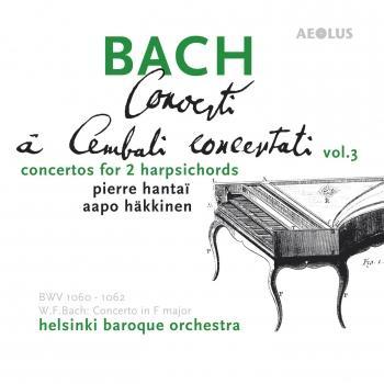 Cover Bach: Harpsichord Concertos Vol. 3, Complete Concertos for two Harpsichords